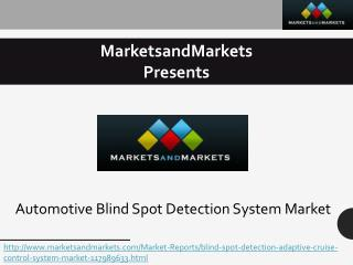Blind Spot Detection (BSD) System
