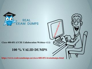 Best Cisco 400-051 Exam Preparation Solutions For Guaranteed Success