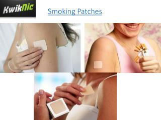 Smoking Patches