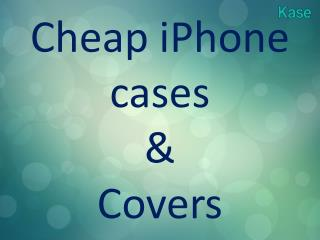 Apple iPhone covers | Cheap iPhone cases | Kase