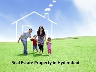 buy real estate property in Hyderabad