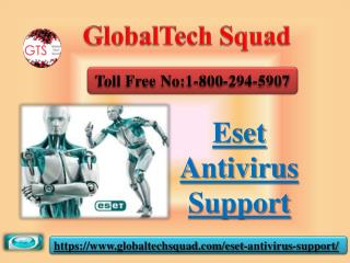 Eset Antivirus Support | Dail 1-800-294-5907
