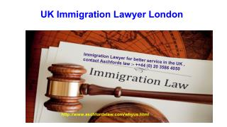 UK Immigration Lawyer London
