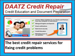 Get the Lexington credit repair services