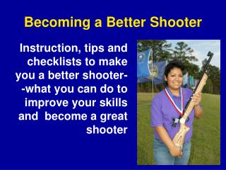 Becoming a Better Shooter