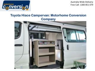Toyota Hiace Campervan: Motorhome Conversion Company