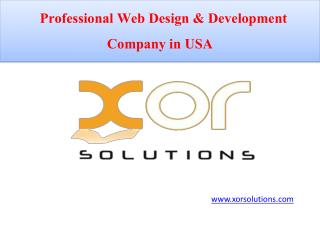 Hire Best Responsive Designing Company in USA
