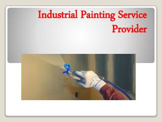 Industrial Painting Service Provider