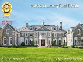 Australia Luxury Real Estate