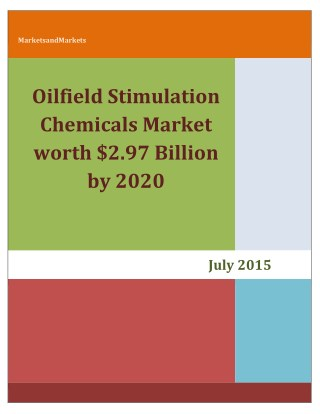 Oilfield Stimulation Chemicals Market.pdf