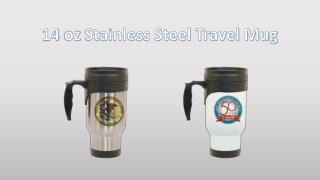 stainless steelLightweight superb finish stainless steel travel mugs