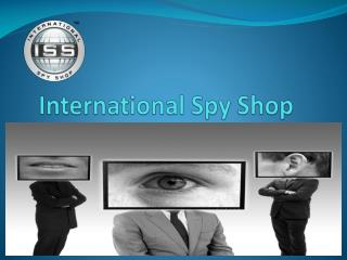 Home Security Products San Francisco - International Spy Shop
