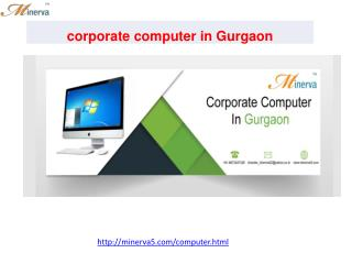 corporate computer in Gurgaon