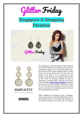 Singapore Online Shopping