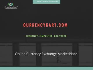 Online Foreign Currency Exchange Service in Delhi | Currencykart