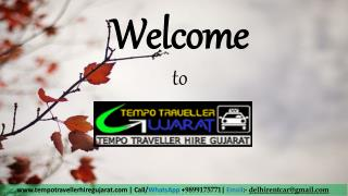 Book Online tempo Traveller for Gujarat Tour