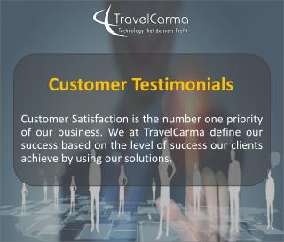 TravelCarma Customer Testimonials