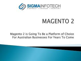 Magento Specialist | Magento Certified Solution Specialist - sigmainfotech.com.au
