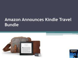 AmazonOffersNewKindleTravel Bundle!