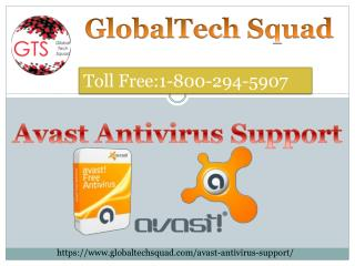 Avast Antivirus Support Review Toll Free:11-800-294-5907