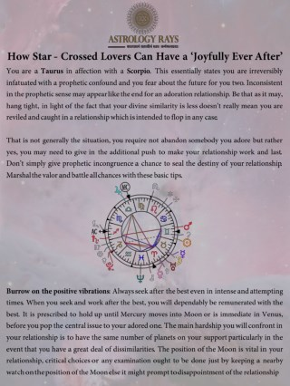 How Star Crossed Lovers Can Have a Joyfully Ever After - AstrologyRays