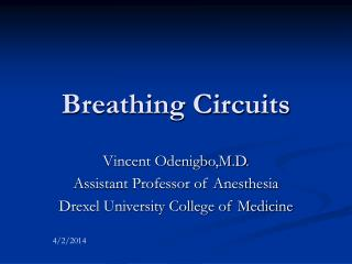 Breathing Circuits
