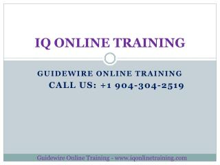 Boost  your career with comprehensive Guidewire Online Training