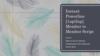 InstantPowerline[1up/2up] Member to Member Script