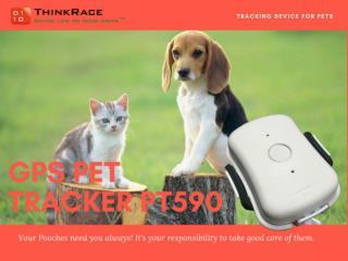 GPS Pet Tracker PT590