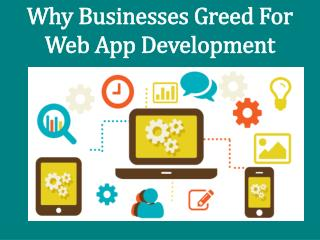 Top Advantages Of Web app development service