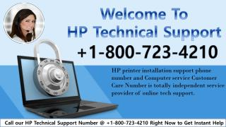 hp printer installation support phone number