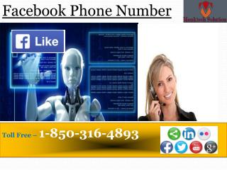 Would I be able to put a call at Facebook Phone number at any time?call 1-850-316-4893