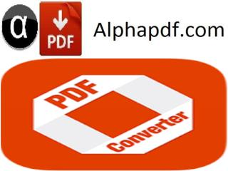 Alpha Pdf: How To converter Power Point to Pdf?