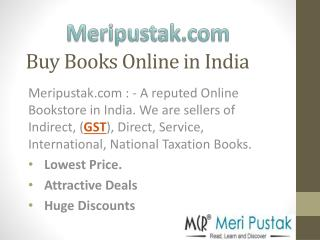 GST Books - Goods and Services Tax