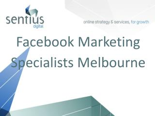 Facebook Marketing Specialist Melbourne