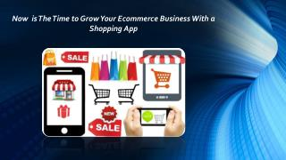 Grow Your Ecommece Business With Mobile App