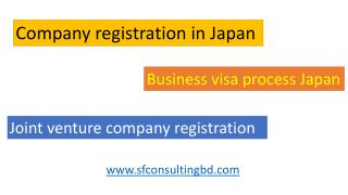 Foreign company registration in Japan