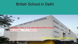 List Of Top International Schools In India