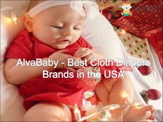 AlvaBaby - Best Cloth Diapers Brands in the USA