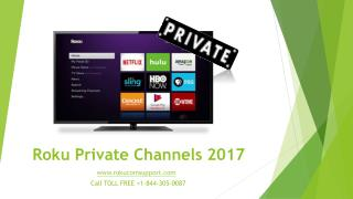 Roku Private Channels 2017