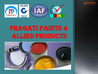 Best Quality Industrial Paint Manufacturer & Supplier In pune
