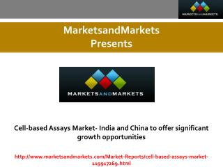 Cell-Based Assays Market estimated worth 18,329.37 Million USD by 2020