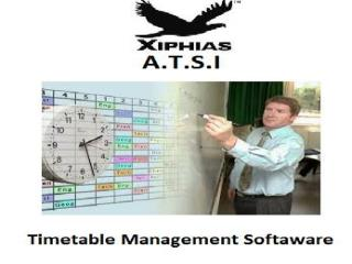 Timetable Management Software