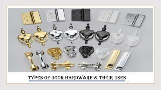 Door Hardware Manufacturers in UAE