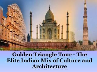 Golden Triangle Agra Jaipur Tour