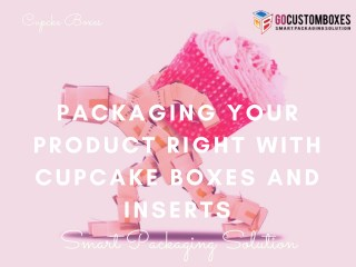 Packaging Your Product Right with Cupcake Boxes and Inserts