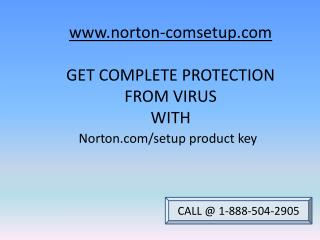 How to download Norton.com/setup product key| Support 1-888-504-2905