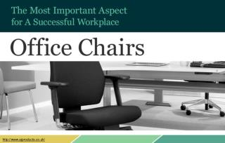What to look for when buying office chairs