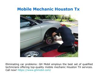 Houston Mobile Mechanics