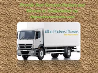 Provide Best Services Packers and Movers in Allahababad via thepackersmovers.com